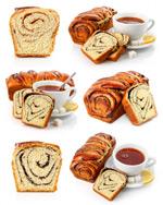 面包咖啡图片