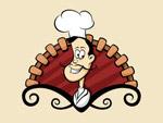 卡通厨师图标