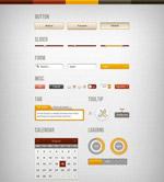 网页UI设计psd