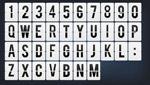 数字与字母翻牌