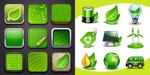 创意环保图标
