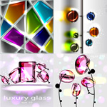 玻璃质感创意