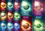 行星科学海报