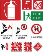 火警安全标识
