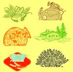 农作物插图