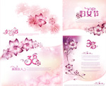 妇女节花卉背景