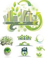 环保城市标志