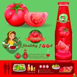 西红柿和西红柿酱