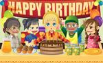 卡通生日快乐