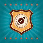 橄榄球盾形标志