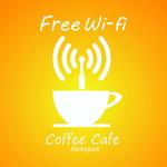 咖啡厅WIFI信号
