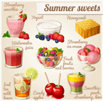 美味夏日甜点