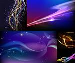 星光与线条元素