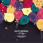 生日快乐主题设计