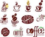 咖啡主题标志
