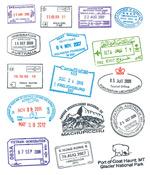 传统邮戳印章