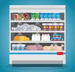 超市冷鲜柜
