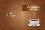 咖啡厅花纹封面