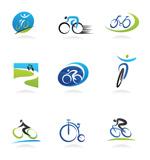骑行运动标识