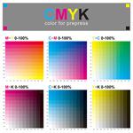 CMYK色谱设计