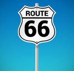 66号公路路牌