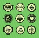 父亲节徽章