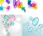 炫彩泡沫水滴