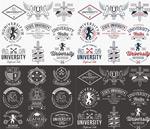 大学标志标识