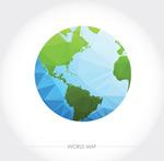 几何形地球矢量