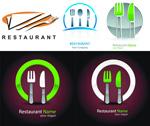 餐厅标志矢量