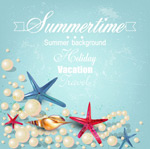 夏日珍珠与海星