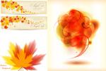 秋季主题矢量概念