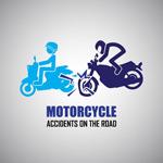 摩托车事故警示