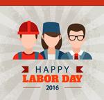 劳动节工人海报