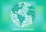 动物图标组合地球