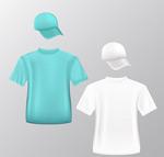 时尚T恤和帽子