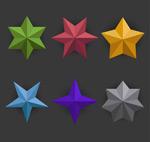 彩色星星设计
