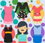 时尚女子服饰
