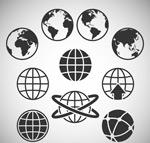 抽象地球素材