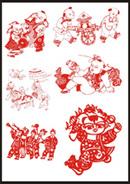中国传统人物图案