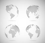 地球设计矢量