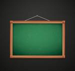 挂式黑板矢量