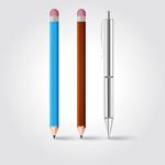 创意铅笔矢量