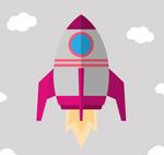 升空火箭设计矢量