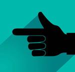 指方向的手势