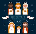 耶稣诞生角色