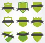 绿色丝带徽章