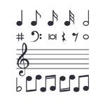 音符和五线谱