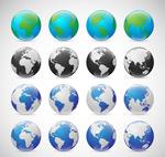 地球矢量素材