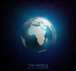 梦幻蓝色地球